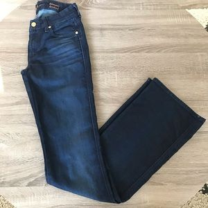 7 for all Mankind Kimmie bootcut jeans. Size 25